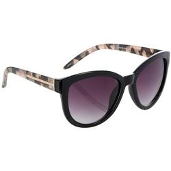 Womens Pink Black Tortoise Shell Sunglasses