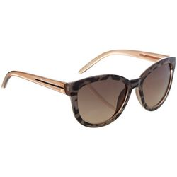 Jones New York Womens Tortoise Print Sunglasses