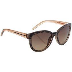 Jones New York Womens Tortoise Print Sunglasses