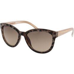 Womens Tortoise Print Sunglasses