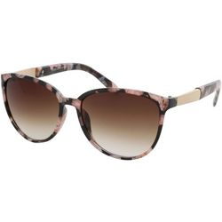 Jones New York Womens Pink & Black Print Sunglasses