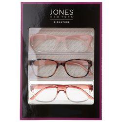 Jones New York Womens 3-Pc. Reading Glasses Set