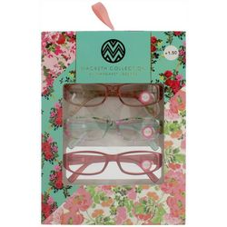 Macbeth Womens 3-pk. Reading Glasses
