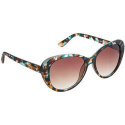 Jones New York Womens Multi Print Cat Eye Sunglasses