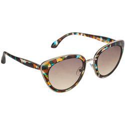 Jones New York Womens Printed Cat Eye Sunglasses