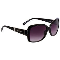 Jones New York Womens Oversized Rectangular Sunglasses