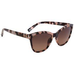 Jones New York Womens Tortoise Cat Eye Sunglasses