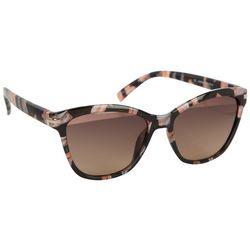 Jones New York Womens Rose Tortoise Shell Sunglasses