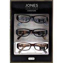Eyematch Womens 3-pk. Animal Print Reading Glasses