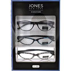 Eyematch Womens 3-pk. Tortoise Design Reading Glasses