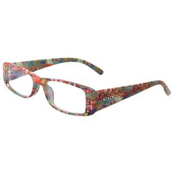Leoma Lovegrove Womens Poseidon Rhinestone Reading Glasses