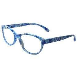Leoma Lovegrove Womens Beachcombers Round Reading Glasses