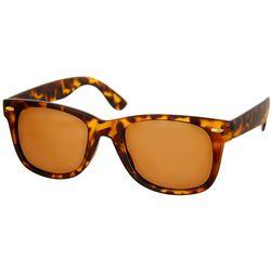 Bay Studio Womens Tortoise Brown Way Sunglasses