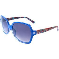Leoma Lovegrove Womens My Happy Place Square Sunglasses