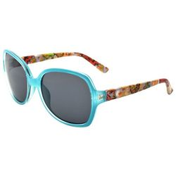 Leoma Lovegrove Womens Aqua Blue Club Mermaid Sunglasses