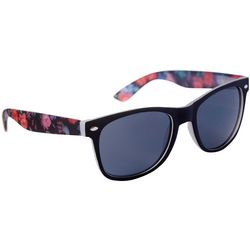 Coral Bay Womens Floral Print Arms Sunglasses