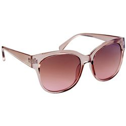 Coral Bay Womens Translucent Brown Sunglasses