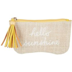 Capelli Hello Sunshine Tassel Cosmetic Bag