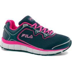 Womens Memory Fresh Start Neon Accent Work Shoes