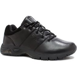 Fila Mens Memory Breach Low Work Shoes