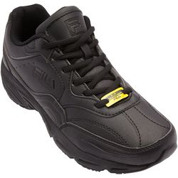Fila Mens On The Job Slip Resistant Work Shoes