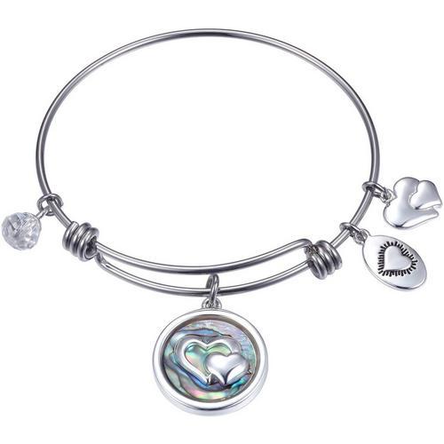 MoAndy Stainless Steel Jewelry Stainless Steel Bracelet Women Bangle Bracelet Dolphin Rose