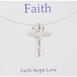 Gratitude & Grace Faith Hope Love Necklace