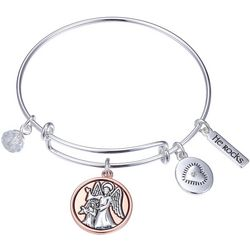Gratitude & Grace Watch Over Me Bangle Bracelet