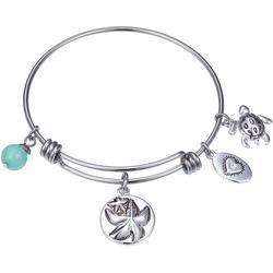 Wish Upon A Starfish Bangle Bracelet
