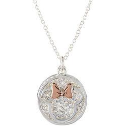 Disney Minnie Mouse Sparkle Pendant Necklace
