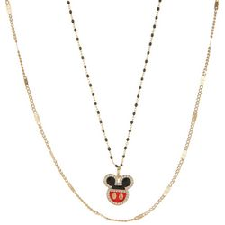 Disney 2-pc. Mickey Mouse Pendant Necklace