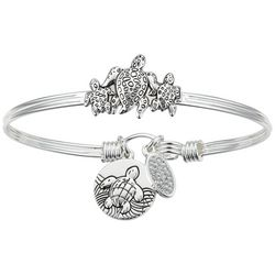 Footnotes Sea Turtle Bangle Bracelet