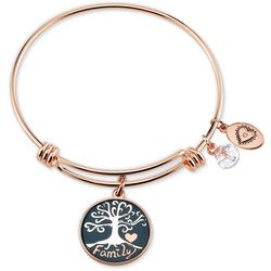 Footnotes Family Everything Charm Bangle Bracelet
