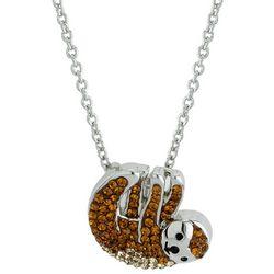 Florida Friends Sloth Pendant Necklace
