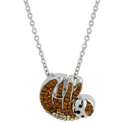 Sloth Pendant Necklace