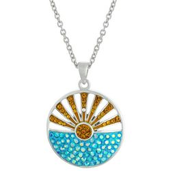 Florida Friends Sunrise Pendant Necklace
