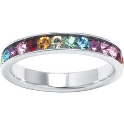 Multi Channel Set Eternity Ring