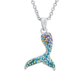 Mermaid Tail Pendant Necklace