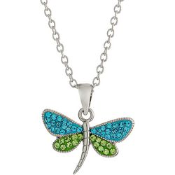 Florida Friends Dragonfly Pendant Necklace