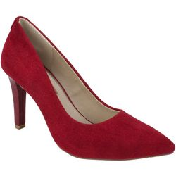 Rialto Womens Murphy Fabric Upper Heels