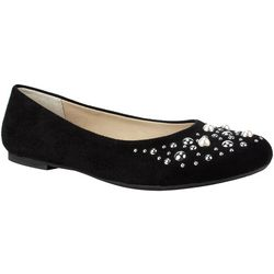 Rialto Womens Santos Fabric Upper Flats