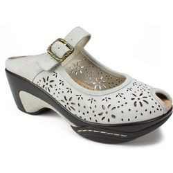 White Mountain Womens Miso Slide Sandals