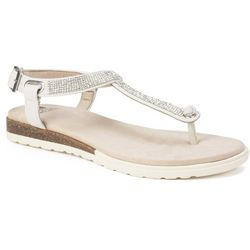 White Mountain Womens Parana Thong Sandals