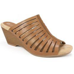 White Mountain Womens Pisces Slide Sandals