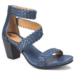 White Mountain Womens Sundown Braided Sandals