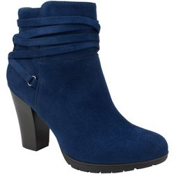 Rialto Womens Sade Ankle Slouch Boots