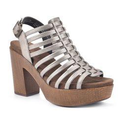 White Mountain Womens Astonish Clog Platform Sandals