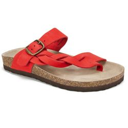 White Mountain Womens Craword Thong Sandals