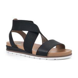 White Mountain Womens Diligent Platform Sandals