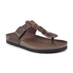 White Mountain Womens Handle Thong Sandals